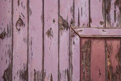 Textured door and wall Royalty Free Stock Photo