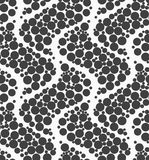 Textured with dots big ripples Stock Photography
