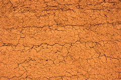 Textured dry mud wall Royalty Free Stock Photo