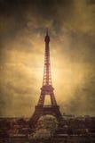 Textured Eiffel Tower Royalty Free Stock Photos