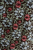 Textured fabric  of flower vintage style. For background and raw material Stock Photos