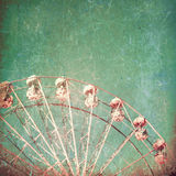 Textured Ferris Wheel Royalty Free Stock Photo