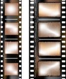 Textured film strip vector illustration