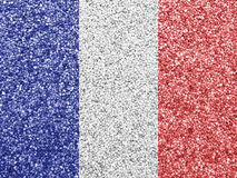 Textured flag of France in nice colors Stock Images