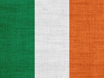 Textured flag of Ireland in nice colors stock photo