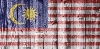 Textured flag of Malaysia nice colors Stock Photos