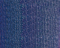 Textured Glass Window Blue Stock Image