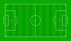 Textured grass soccer field. Football green field Royalty Free Stock Image