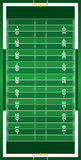 Textured Grass Vertical American Football Field. A vertical grass textured American football field illustration. EPS 10. File contains transparencies Stock Photos