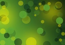 Greenl abstract layout with circles. Textured green background wallpaper for designs with text or image layout Royalty Free Stock Images