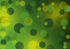 Greenl abstract layout with circles. Textured green background wallpaper for designs with text or image layout Stock Photos