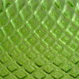 Textured green glass Royalty Free Stock Photography