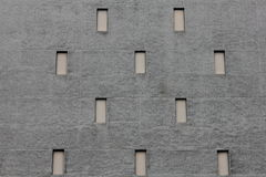 Textured grey wall. Textured grey music hall wall Stock Photos