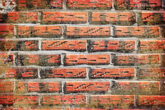 Textured grunge abstract brick wall background Royalty Free Stock Photography