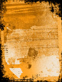 Textured Grunge Background. With border / frame Royalty Free Stock Image