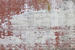 Textured grunge brick wall background. Rough textured painted brick wall photo background Royalty Free Stock Photography
