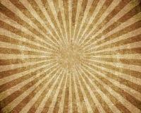 Textured grunge burst. Brown background Royalty Free Stock Photo