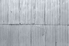 Textured grunge corrugated metal background Royalty Free Stock Image