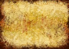Textured grunge frame. With space for writing, large size file, highly detailed vector illustration