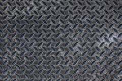 Textured grunge metal tread background Stock Photo
