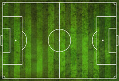Textured Grunge Soccer Football Field Royalty Free Stock Images
