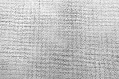 Textured hand painted white canvas surface Royalty Free Stock Photo