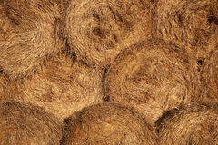 Textured hay bales royalty free stock photos