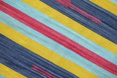 Textured hizo punto rayas diagonales coloridas como fondo Imagen de archivo