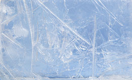 Textured ice Royalty Free Stock Photo