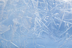 Textured ice Stock Photo