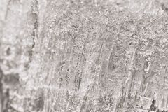 Textured Ice Macro royalty free stock photos