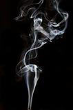 Textured of incense smoke Stock Photo