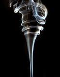 Textured of incense smoke Stock Image