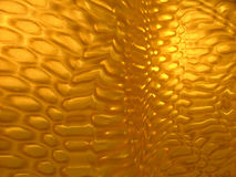 Textured interesting yellow surface Royalty Free Stock Photo