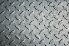 Textured Iron plate, metal background Royalty Free Stock Photo