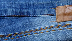 Textured jeans background Stock Image