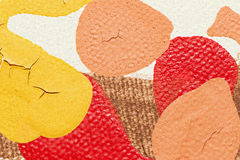 Textured kanwa kolory Zdjęcia Stock
