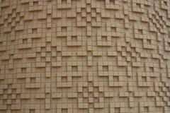 Textured kwadrata wzór Obrazy Royalty Free