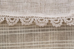 Textured linen Stock Photography