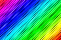 Textured lines in rainbow colors Royalty Free Stock Images