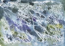 Textured marbled or artificial stone for background. Or design royalty free stock photo