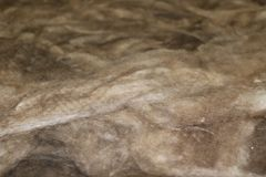 Textured material made from natural ingredients. construction, repair, wallpaper and insulation - textural material for  reconstru. Ction and warming of  home Royalty Free Stock Images