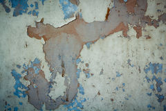Textured metal background. Chipped paint rust textured metal background Royalty Free Stock Photography