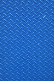 Textured metal background. In blue Royalty Free Stock Photo
