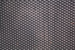 Textured metal background with dots royalty free stock image