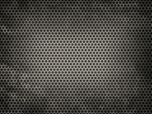 Textured metal grid Stock Image