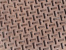 Textured metal kratownica obrazy royalty free