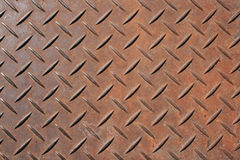 Textured metal panel Stock Photography