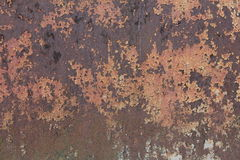 Textured metal rusty fence. Textured metal rusty fence near the brewery Royalty Free Stock Photos