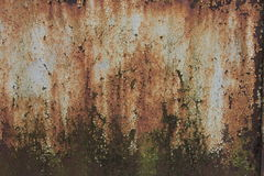 Textured metal rusty fence. Textured metal rusty fence near the brewery Royalty Free Stock Images